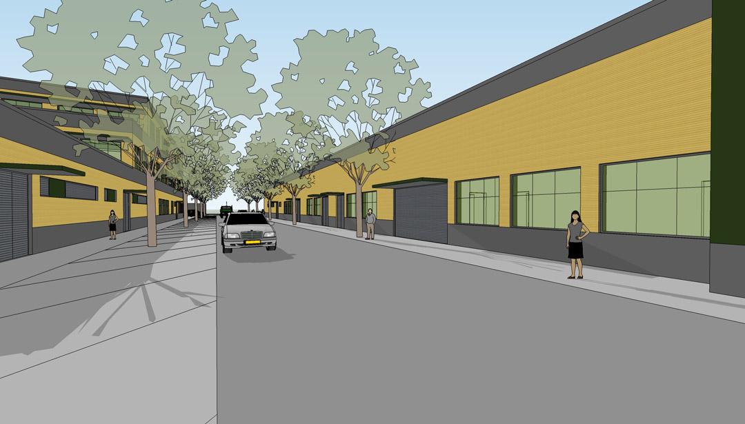 Flächen- und Gebäudeentwicklungsplan ARA Sindlingen