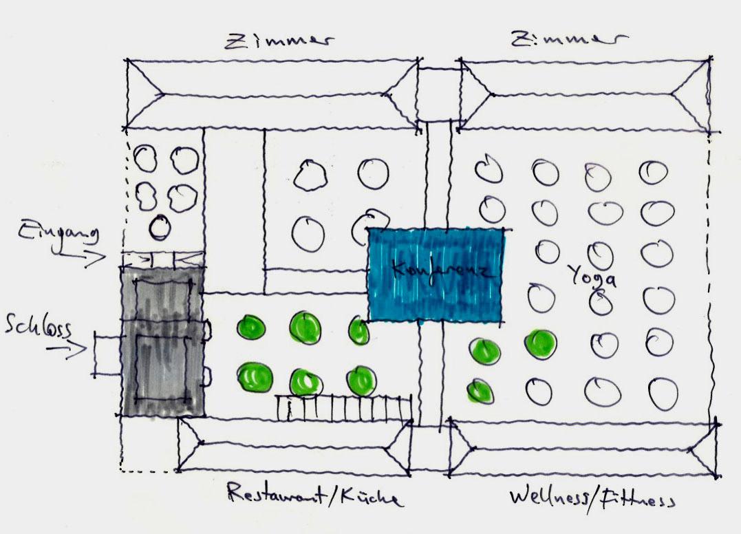 Machbarkeitsstudie Erweiterung Hotel Schulzendorf