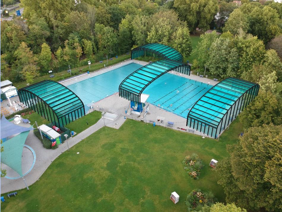 Machbarkeitsstudie Schaffung einer Ersatzwasserfläche  im Zeitraum der Sanierung des Rebstock Bades
