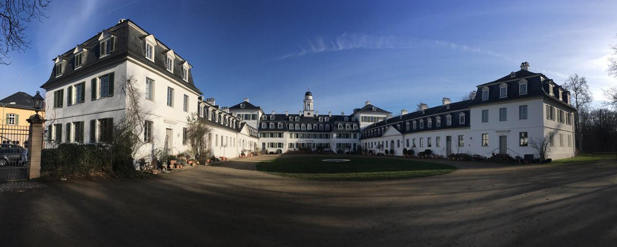 Sanierung Schloss Rumpenheim Kopfbau